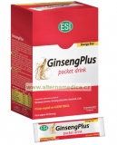 ESI Ginseng plus drink (sada mini drinků 16 x 10 ml)
